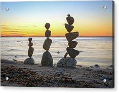 Balancing Art #68 Acrylic Print