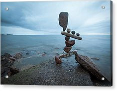 Balancing Art #69 Acrylic Print