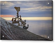 Balancing Art #7 Acrylic Print