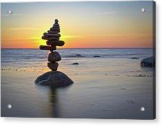 Balancing Art #8 Acrylic Print