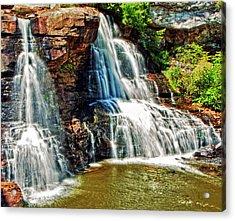 Balckwater Falls - Closeup Acrylic Print