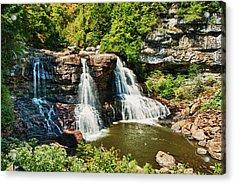 Balckwater Falls - Wide View Acrylic Print