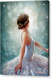 Ballerina Dazzle Acrylic Print