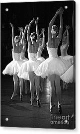 Ballerinas On The Stage Acrylic Print