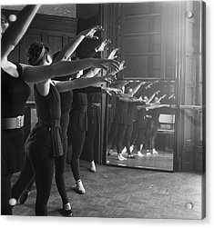 Ballet Class Acrylic Print by Chris Ware