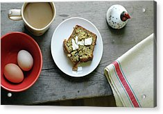 Banana Bread For Breakfast Acrylic Print