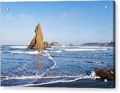 Acrylic Print featuring the photograph Bandon Oregon 103018 by Rospotte Photography