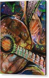 Banjos Jamming Acrylic Print