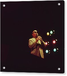 Barney Bigard Performs At Newport Acrylic Print by David Redfern