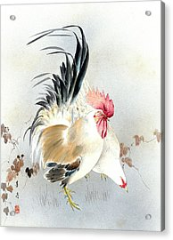 Barnyard Fowl Acrylic Print