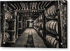 Barrel Aging Bourbon Acrylic Print