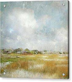 Basin Impressions Acrylic Print