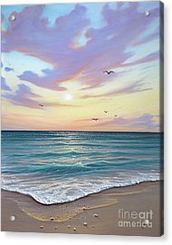 Basking In The Sunset Acrylic Print