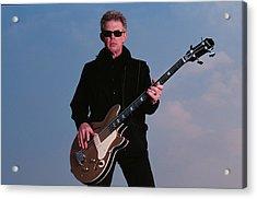 Bass Guitarist Jack Casady Of Jefferson Acrylic Print