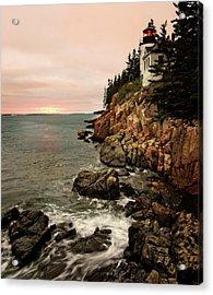 Bass Harbor Head Lighthouse Acrylic Print