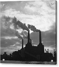 Battersea Power Station Acrylic Print by George Freston