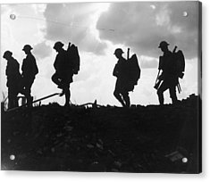 Battle Of Broodseinde Acrylic Print by Fotosearch