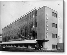 Bauhaus Acrylic Print by General Photographic Agency