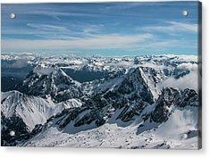 Bavarian Alps Acrylic Print