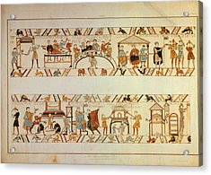 Bayeux Tapestry Acrylic Print by Hulton Archive