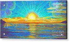 Beach 1 6 2019 Acrylic Print