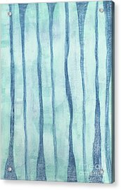 Beach Collection Beach Water Lines 2 Acrylic Print