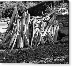 Beach Fort 2 Acrylic Print