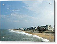 Beach Houses Acrylic Print by Jpecha