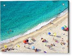 Beach Tropea Acrylic Print