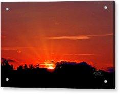Beacon Heights Sunrise Acrylic Print