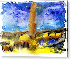 Acrylic Print featuring the painting Beam Of Light by Bee-Bee Deigner