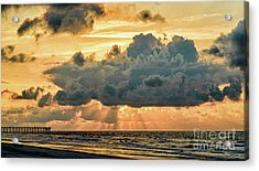Beaming Through Acrylic Print
