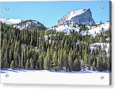 Acrylic Print featuring the photograph Bear Lake View Of Notchtop Mountain by Dawn Richards