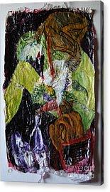 Beaten By A Monkey Acrylic Print