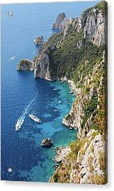 Beautiful Capris Sea Acrylic Print by Pierpaolo Paldino