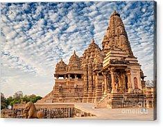 Beautiful Image Of Kandariya Mahadeva Acrylic Print