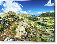 Beautiful Landscape Of Pirin Mountain Acrylic Print