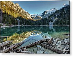 Acrylic Print featuring the photograph Beautiful Nature Of Joffre Lakes by Pierre Leclerc Photography