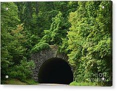 Beautiful Tunnel With Greenery, Nc Acrylic Print