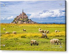 Beautiful View Of Famous Historic Le Acrylic Print by Canadastock