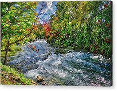 Acrylic Print featuring the photograph Beauty Before The Falls by Lynn Bauer