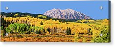 Beckwith Mountain Colors Acrylic Print