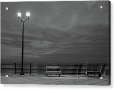 Before Dawn On The Boards Acrylic Print
