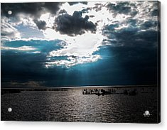 Beginning Of The End Of The Day Acrylic Print