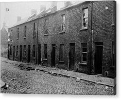 Belfast Slum Acrylic Print by Topical Press Agency