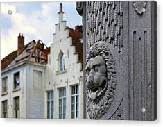 Acrylic Print featuring the photograph Belgian Coat Of Arms by Nathan Bush