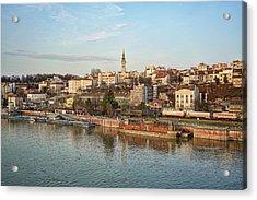 Belgrade Cityscape Acrylic Print