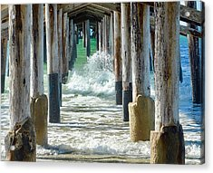 Below The Pier Acrylic Print