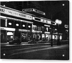 Berlin Cinema Acrylic Print by General Photographic Agency