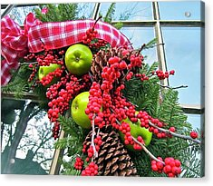 Acrylic Print featuring the photograph Berry Christmas by Don Moore